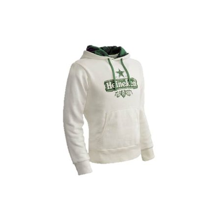 Organic sweatshirt heren wit