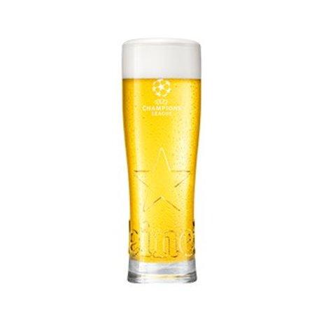 Heineken UCL Star glas 25cl (4 stuks)