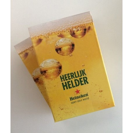 Heineken speelkaarten (10x bridge)
