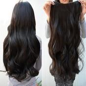 Synthetische half wig