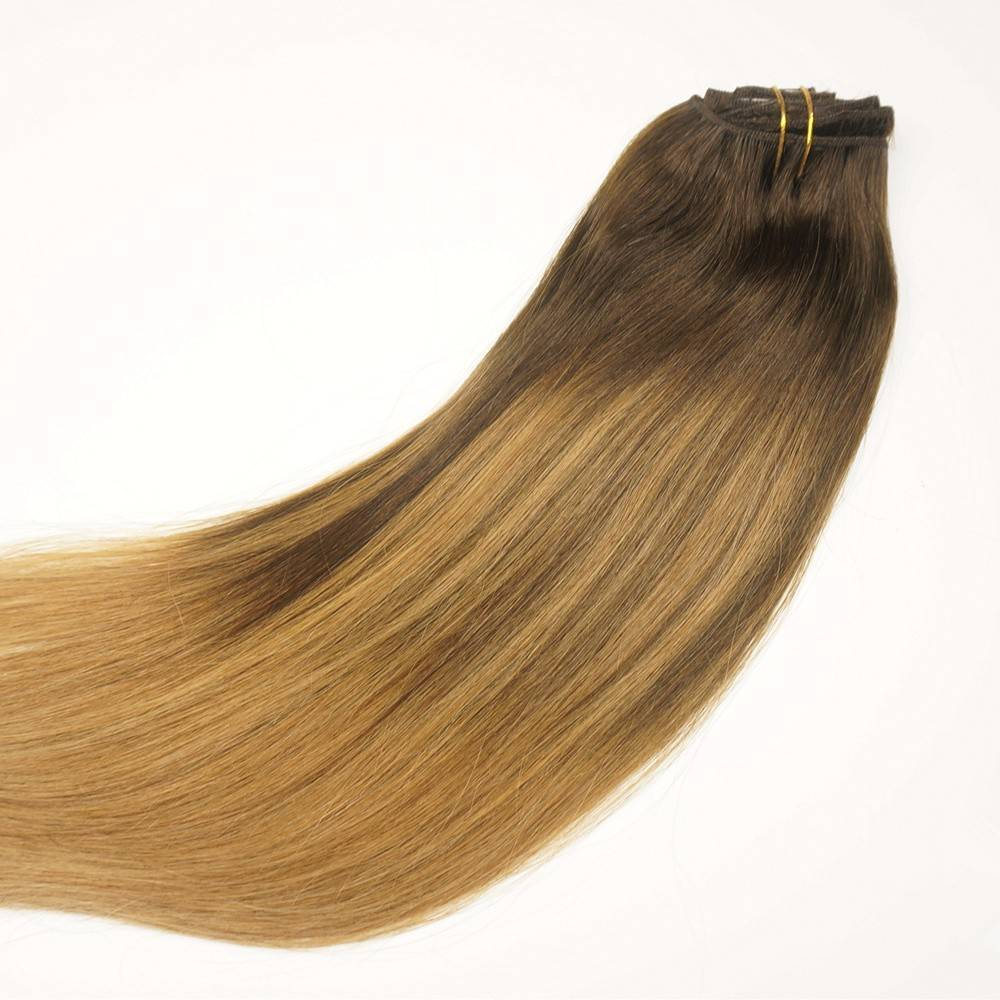 clip in extensions balayage caramel. Black Bedroom Furniture Sets. Home Design Ideas