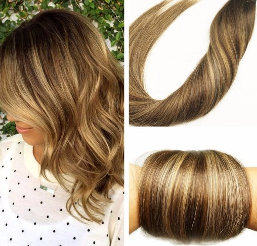 tape extensions ombre balayage. Black Bedroom Furniture Sets. Home Design Ideas
