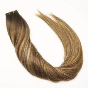 Tape extensions ombre balayage highlights  20-40 Stks Straight