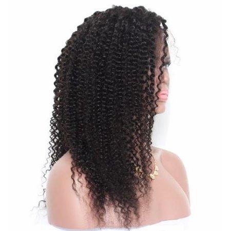 Prachtige Lace Front Wig  met krullen