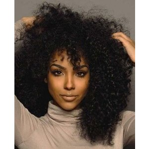 Brazilian Lace Wig Kinky Curly Dichtheid 130%