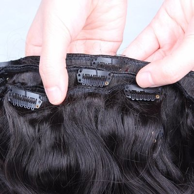 Clip in Extensions 220 gram Double Drawn