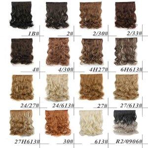 SYNTHETISCH CLIPIN HAIR 120 GRAM (ONE STROKE FULL HEAD)
