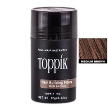 TOPPIK HAIRBUILDING FIBERS MEDIUM BROWN
