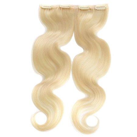 White Blonde Clip in Haar #60
