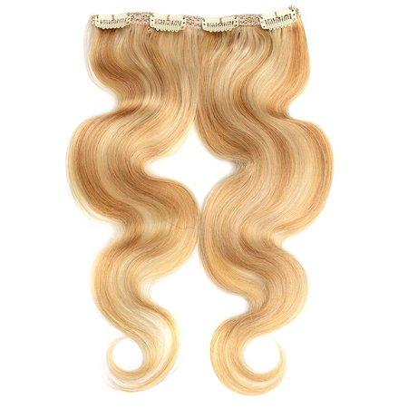 Clip in full head blond mix #27/613