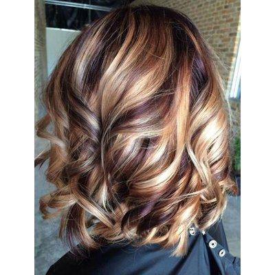 Extensions Bruin Blond Mix #4/27