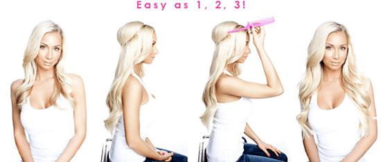 flip in hair samshairextensions.nl