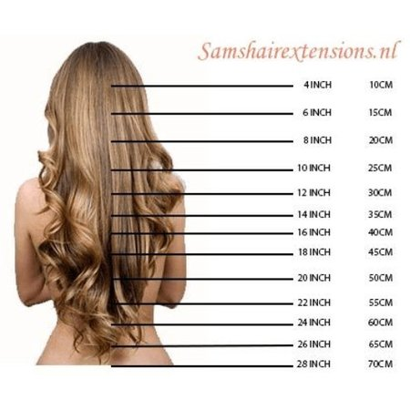 Clip in Extensions 55 cm Double Drawn (FULL HEAD)