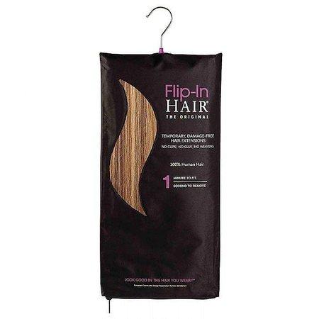 Flipin original Flip in Hair Golden Brown