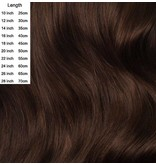 Clip in extensions Chocolate Brown