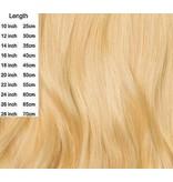 Clipin extensions licht blond