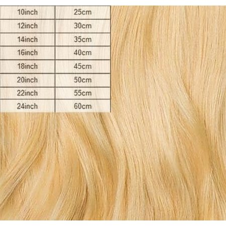 Clip in extensions Blond 220 gram (Full Head)