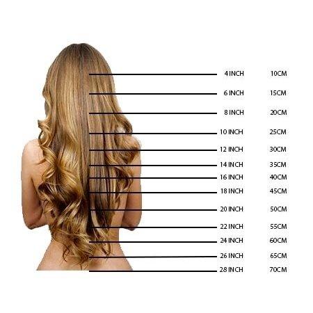 Charmante pruik 100% Menselijk Haar