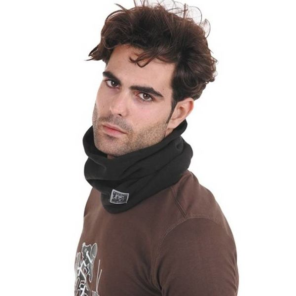 Col zwart tucano fleece