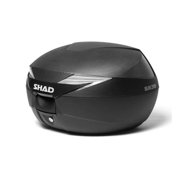 Scooter topkoffer 39L zwart Shad