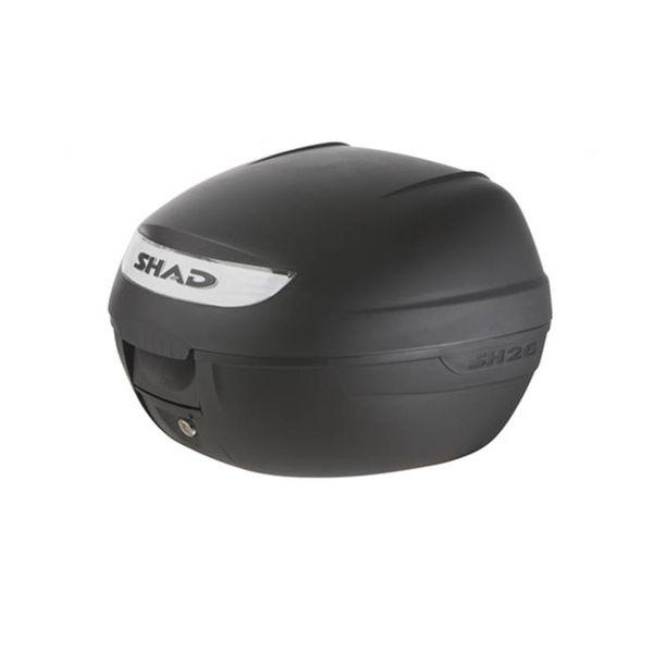 Scooter topkoffer 26L zwart Shad