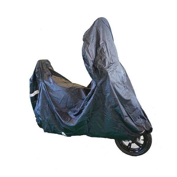 Beschermhoes scooter Tucano 2180 Zwart - Met windscherm ruimte