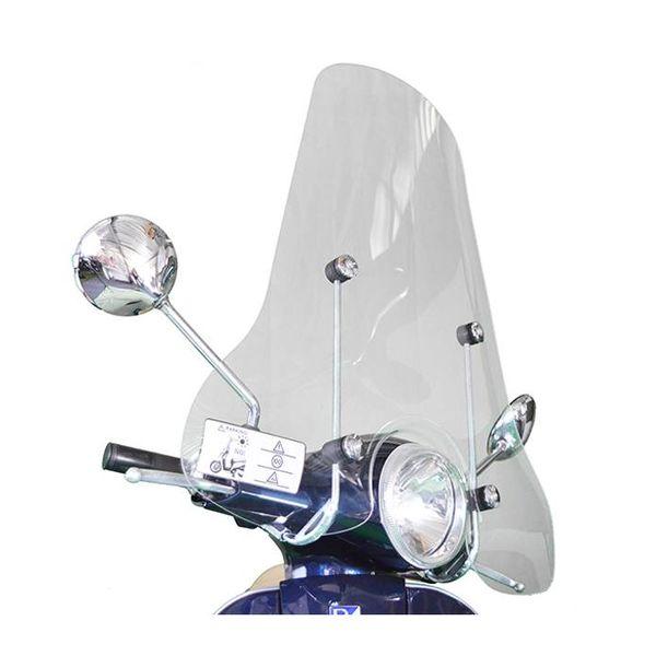 Vespa LX Hoog Windscherm inclusief bevestigingsset van scootercentrum