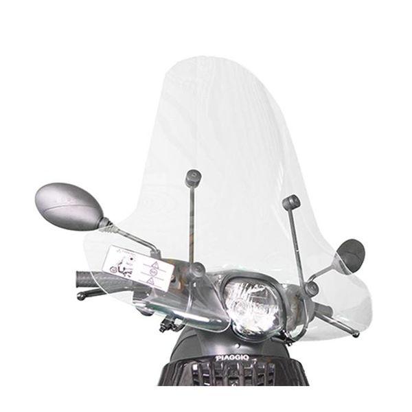 Piaggio Zip Hoog Windscherm inclusief bevestigingsset van scootercentrum