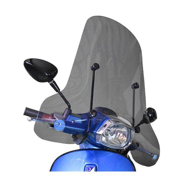 Vespa Sprint Smoke Hoog Windscherm inclusief bevestigingsset van scootercentrum