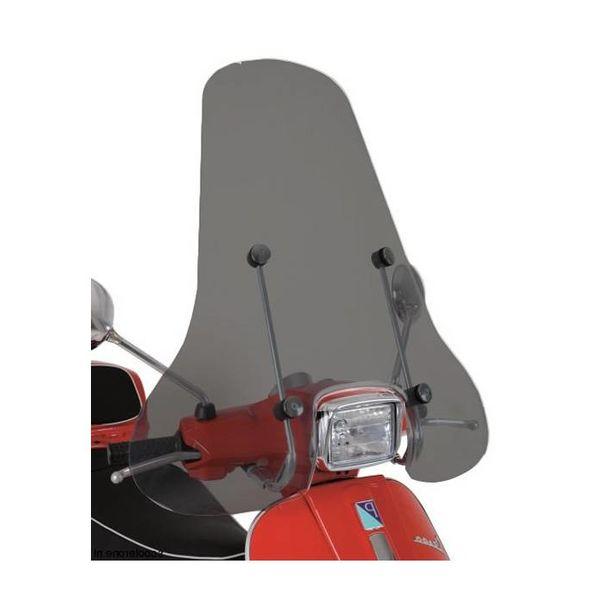 Vespa S Smoke Hoog Windscherm inclusief bevestigingsset van scootercentrum