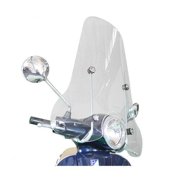 Vespa LX Origineel Hoog Windscherm inclusief bevestigingsset