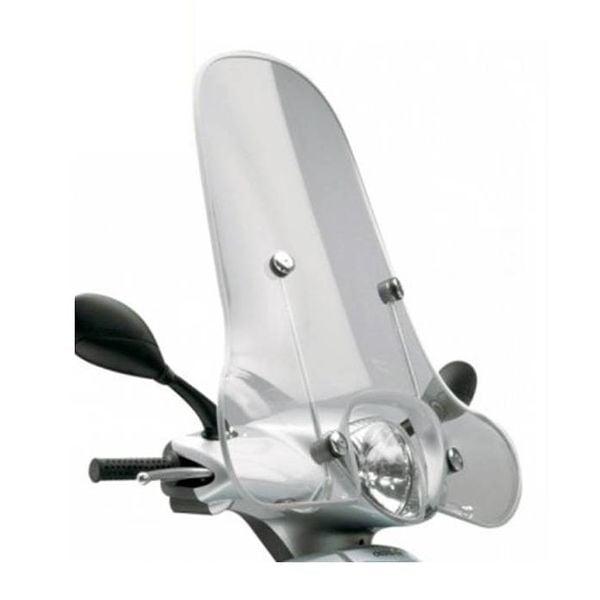 Piaggio Fly  Origineel Hoog Windscherm inclusief bevestigingsset