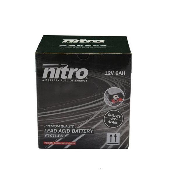 Yamaha XTZ 250 Lander Motor accu van nitro