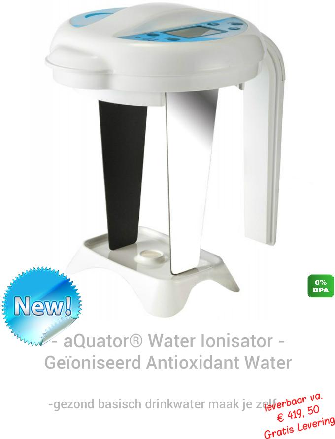 aQuator portable Water Ionisatie apparaat
