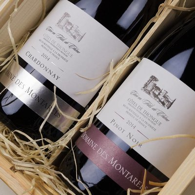 Montarels - Chardonnay Fut & Pinot Noir - Cadeau