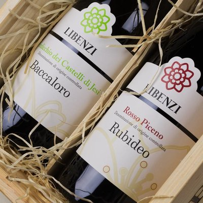 Laila Libenzi - Verdiccio Baccaloro & Rosso Piceno - Cadeau