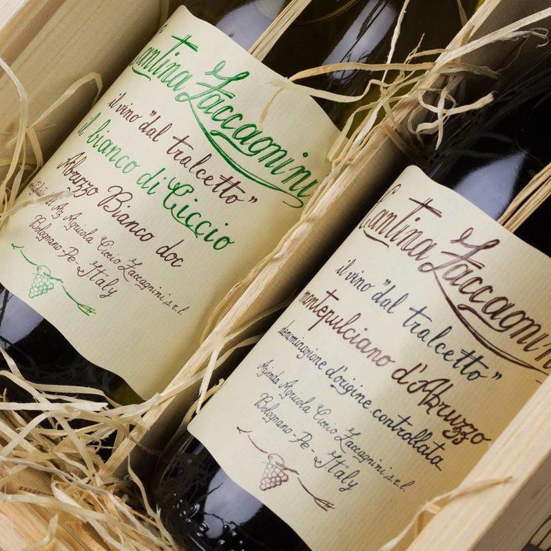 Zaccagnini - Bianco di Ciccio & Montepulciano Tralcetto - Cadeau