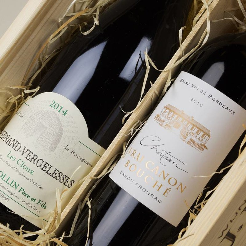Rollin Pernand Vergelesses Cloux & Château Vrai Canon Bouché - Cadeau