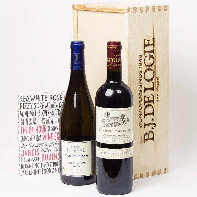 Frans klassiek wit en rood met 24 Hour Wine Expert - Cadeau