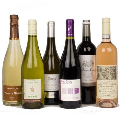 Wijnpakket - Frankrijk Introductie (6 fl.)