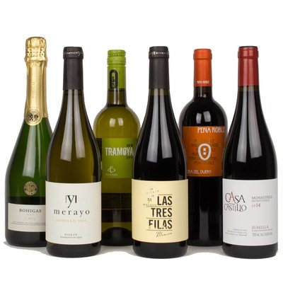 Wijnpakket - Spanje (6 fl.)