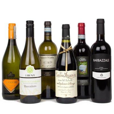 Wijnpakket - Italië (6 fl.)