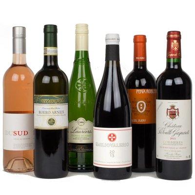Wijnpakket - Zomeraanbieding - BBQ (12 fl.)
