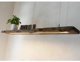 Pendentif lumières en bois