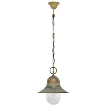 Extérieur lampe suspendue lumière Altmessingguss patinée