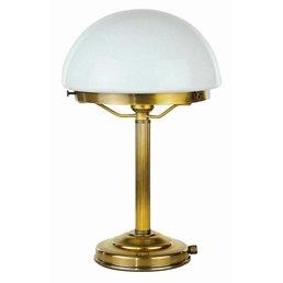 Lampe de table en laiton antique