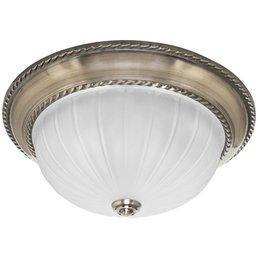 Ceiling light metal altmessing