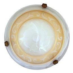 lumière plafond décor or lumière méditerranéenne