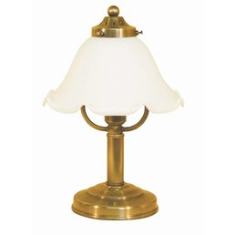 Table lamp brass antique antique brass