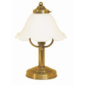 Lampe de table en laiton antique, laiton antique